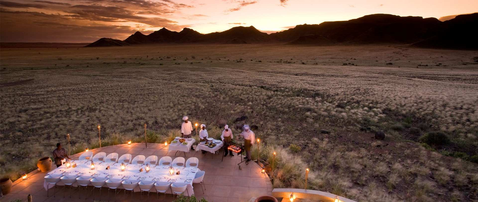Luxury Road Tripping Through Namibia Travel Concepts : sossusvlei desert lodge group diningjpg1920x810021110000 from travelconcepts.co.za size 1920 x 810 jpeg 164kB