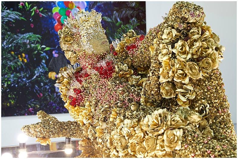 Athi-Patra Ruga golden installation Zeitz MOCAA