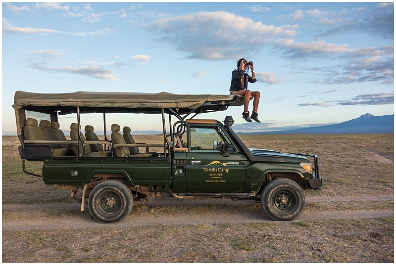Amboseli National Park Tortilis Camp Game Drive