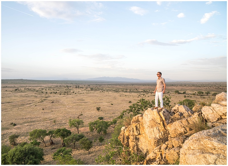 Robert Poole social media influencer surveying East Africa