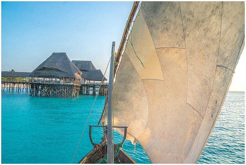 blue ocean Zanzibar
