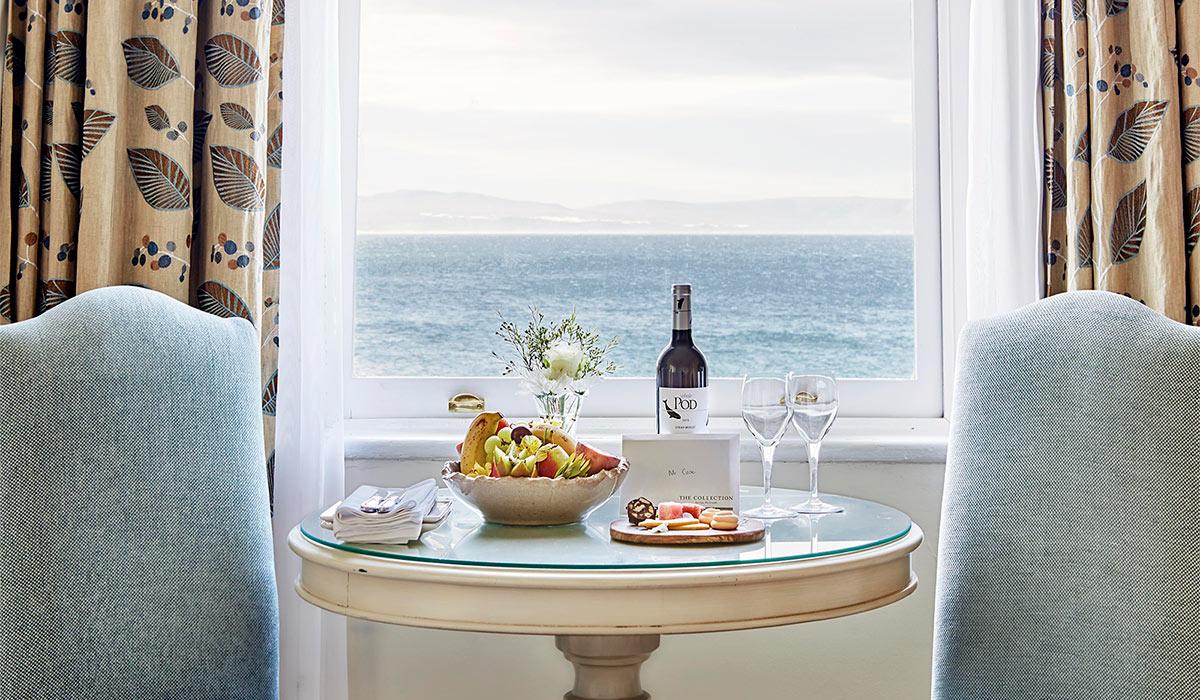 marine hotel view