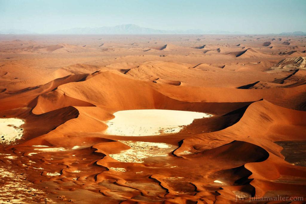 crater - Namib desert